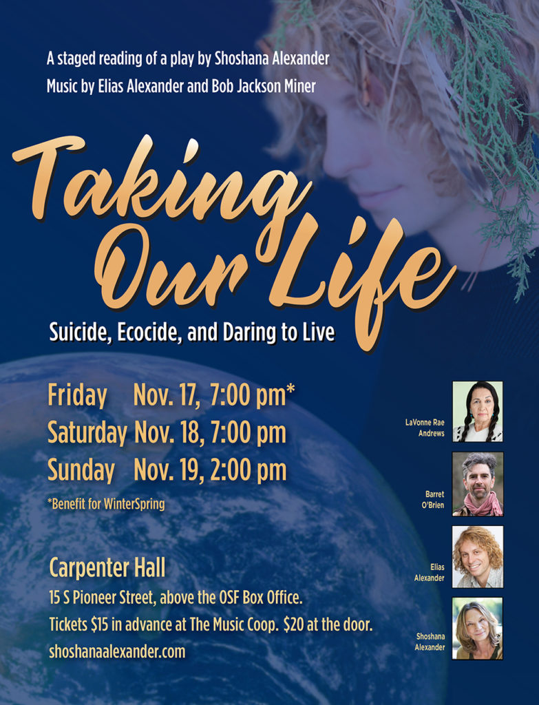 Taking Our Life poster3
